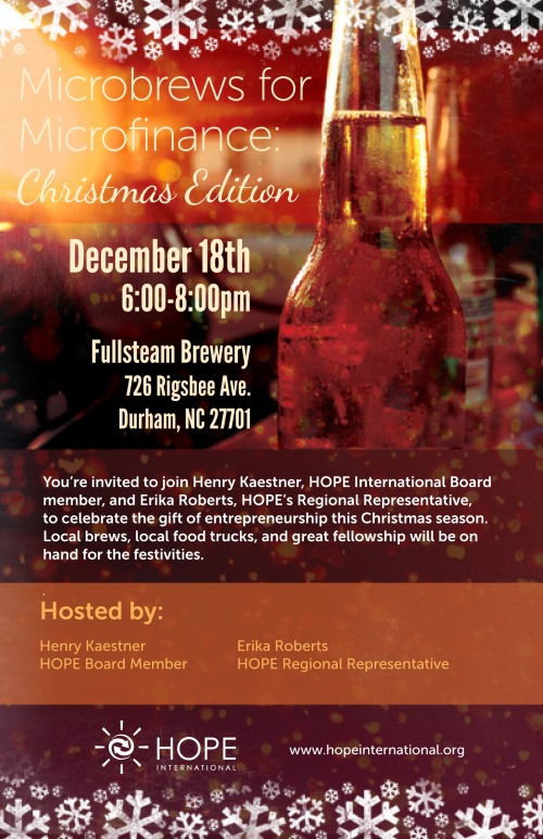 Microbrews for Microfinance Dec 18