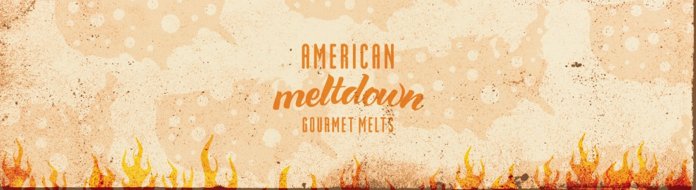 American Meltdown Gourmet Melts Logo